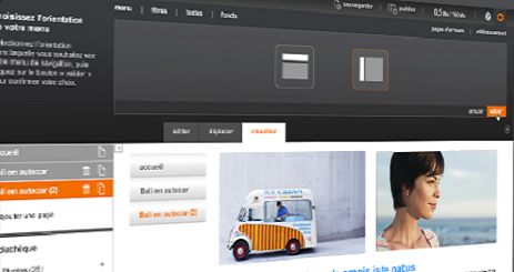 nouvel assistant pages perso Orange